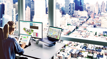 office overlook